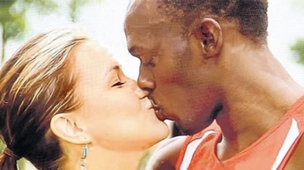 Usain Bolt dejó a su novia para llegar bien a Londres.