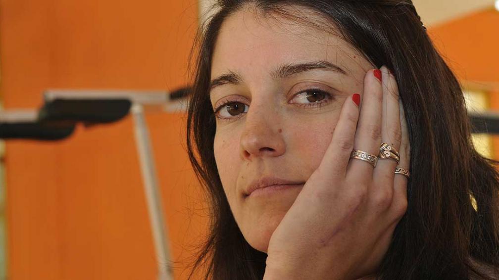 Carola Malvina López, la cordobesa del taekwondo.