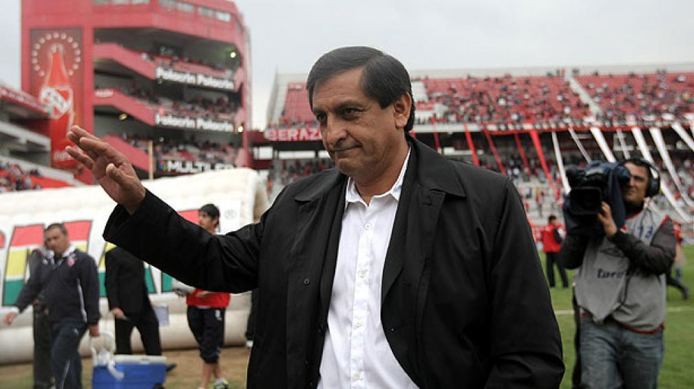 """El Independiente del """"Pelado"""" Díaz recibe a Olimpo (Foto: DyN)."""