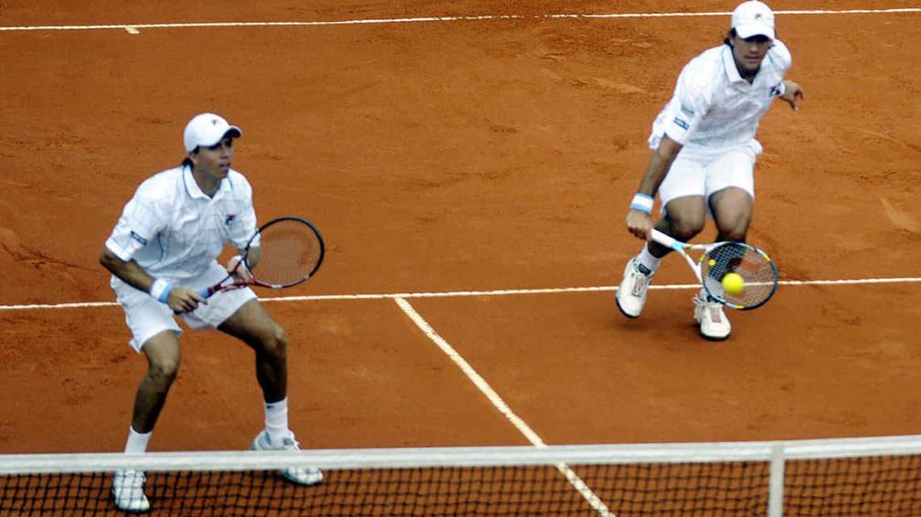 Los checos se llevaron el primer set. y luego, el partido (Foto: Télam)