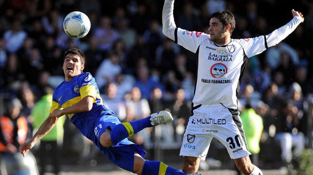 Boca y All Boys jugarán en La Bombonera, si el tiempo lo permite. (Foto: Télam)
