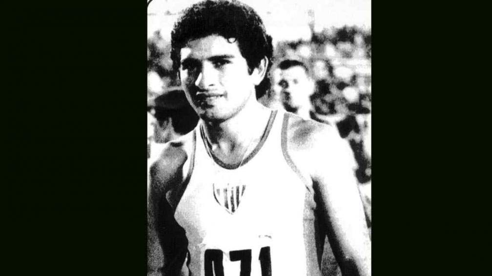 Miguel Sánchez, atleta y futbolista tucumano, desaparecido durante la última Dictadura.