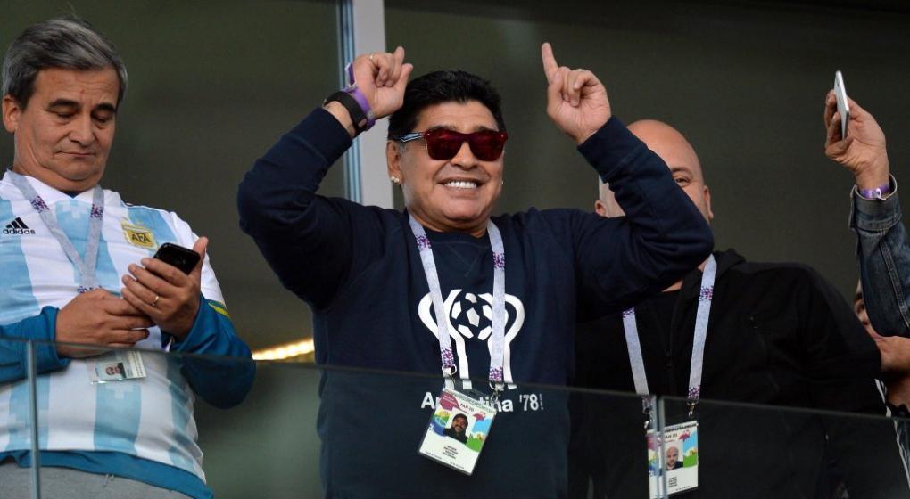 Mundial 2018  Maradona le hizo un pedido a la selección
