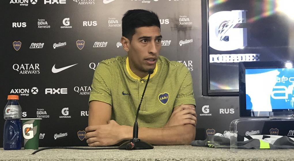 A una semana de llegar, Andrada será titular en Boca