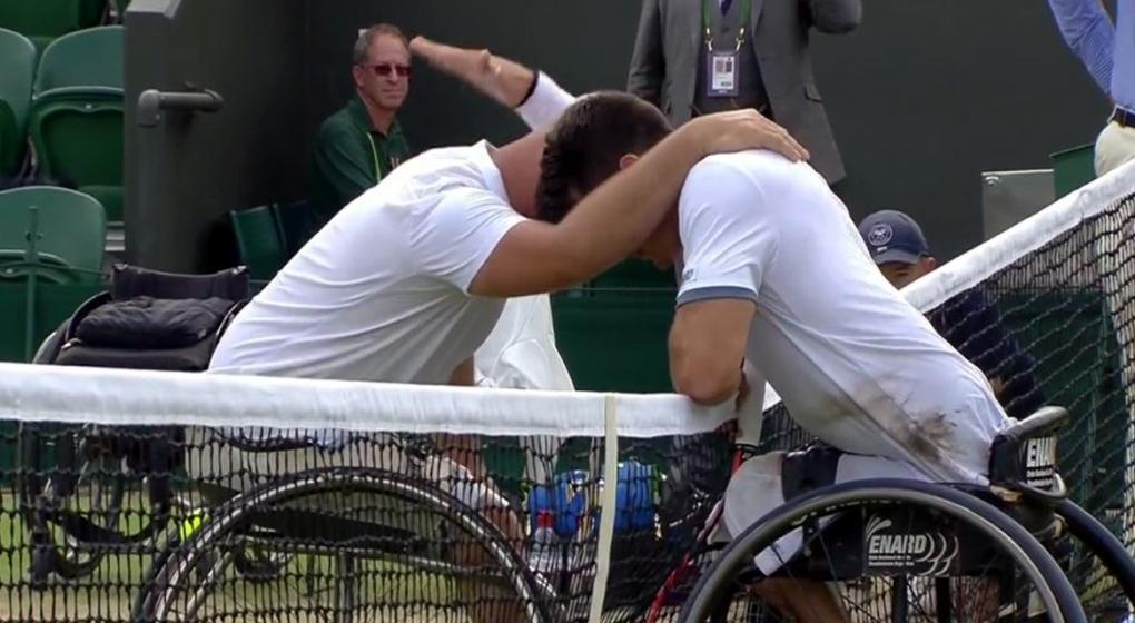 Resultado de imagen para Gustavo Fernández cayó en la final de Wimbledon