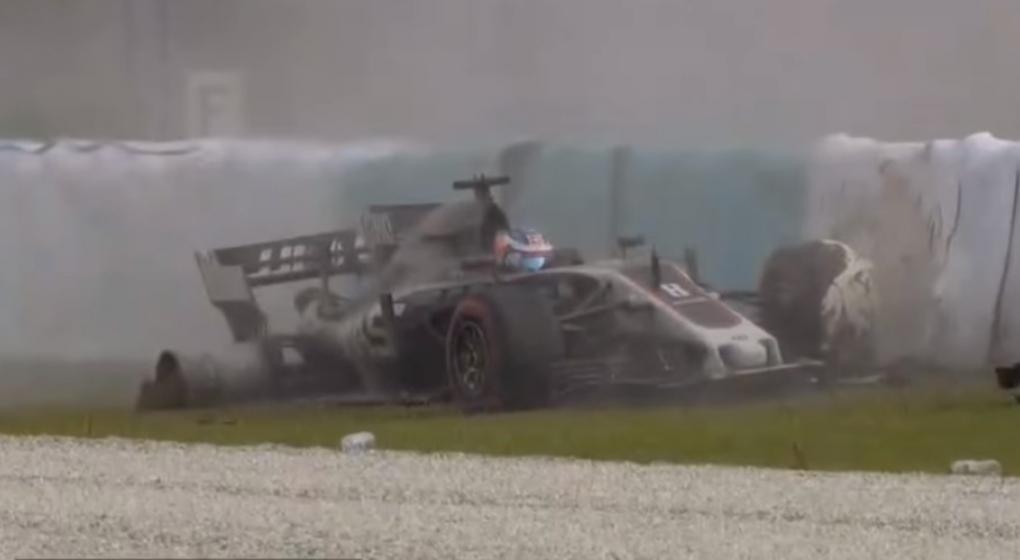 Este insólito error casi le costó la vida a piloto de F1