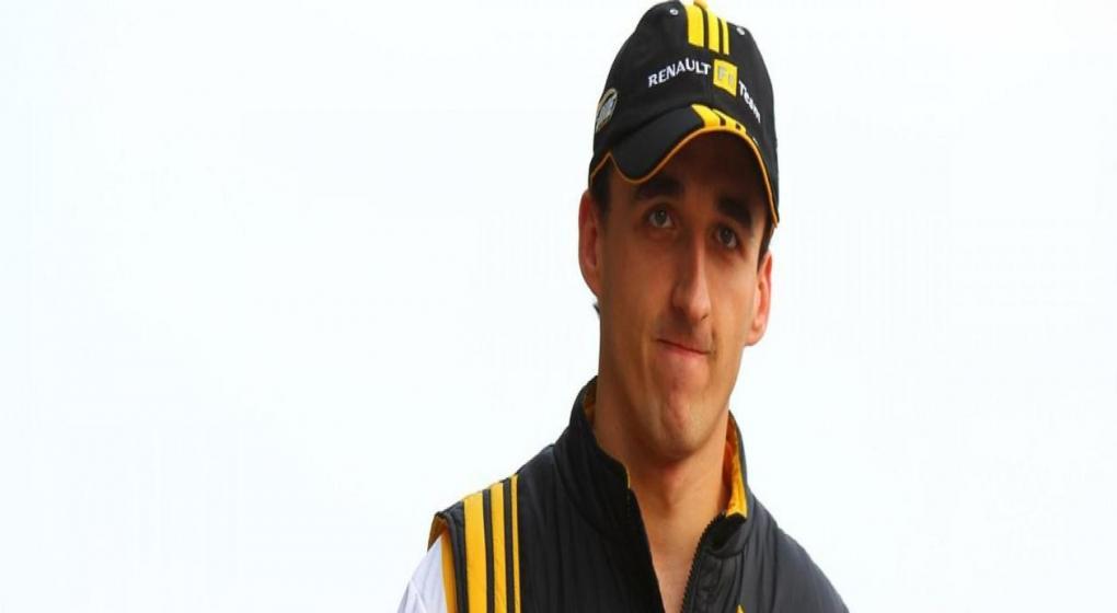 Robert Kubica condujo un coche de F1 luego de seis años