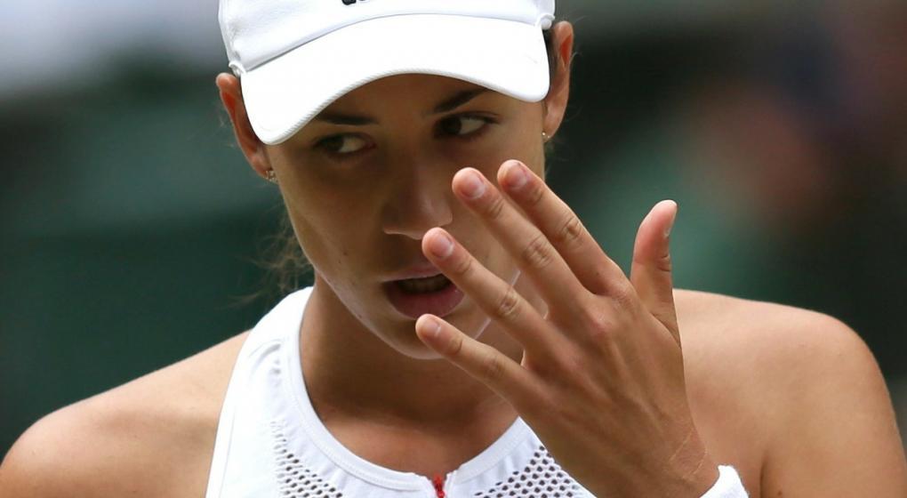 Muguruza aplasta a Rybarikova para alcanzar su segunda final en Wimbledon