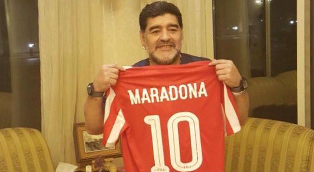 Maradona vuelve a ser DT con un equipo de Medio Oriente