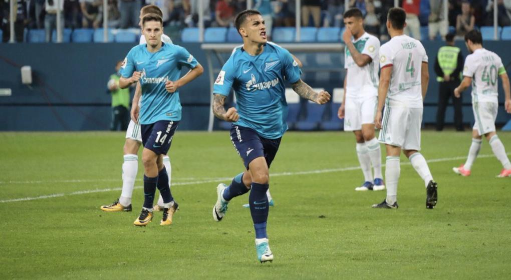 Leandro Paredes hizo su primer gol con la camiseta del Zenit