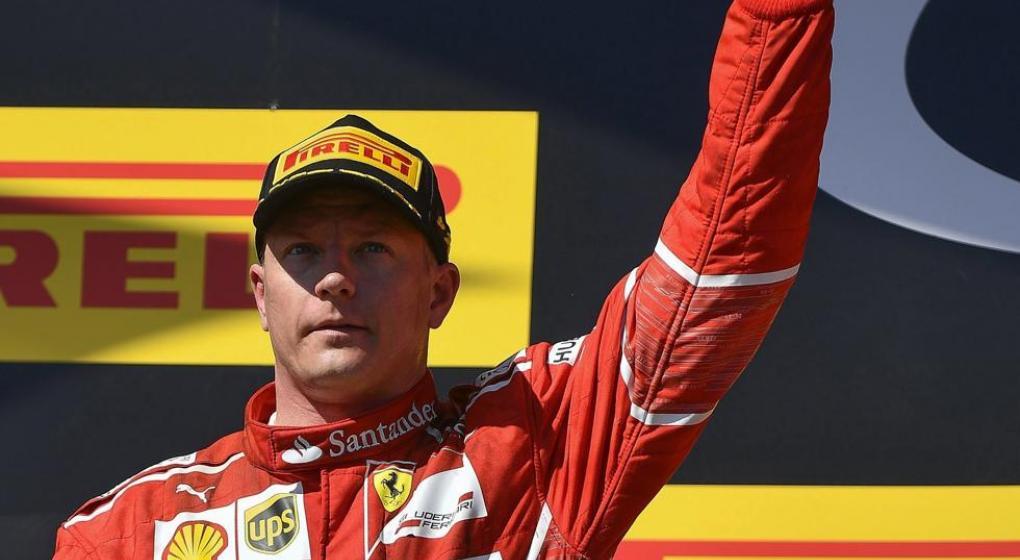 Kimi Raikkonen se mantendrá en Ferrari para el 2018