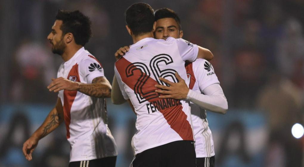 River golea a Villa Dálmine por la Copa Argentina