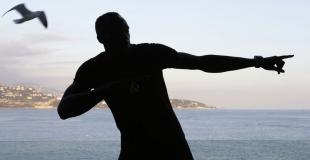 Bolt habló de su futuro y se negó al reto de Rudisha