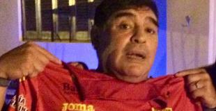 Maradona con la de Boca... Unidos