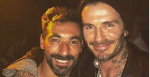 ¡Tormenta de facha! El ´Pocho´ Lavezzi y una selfie con Beckham