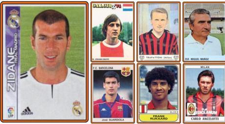 De colección: figuritas retro de actuales y ex cracks del fútbol mundial