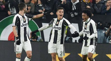 La Juventus de Dybala copa la pantalla de la TV