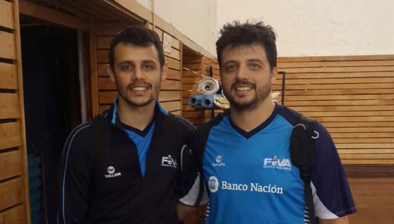Martín y Cristian Ambrosini, los otros cordobeses de la selección que se clasificó al Mundial Sub 20.