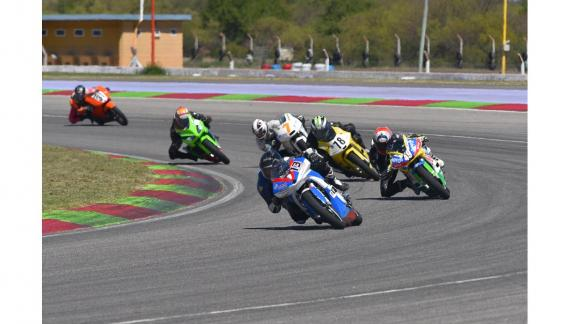 Categoría 250 Argentino, que consagró campeón al piloto Juan Ignacio Rodríguez, de San Juan. (CBA X)