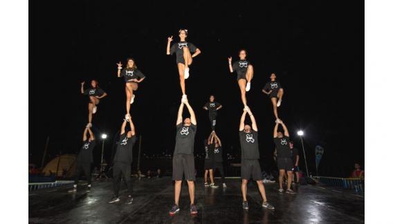 El público del festival disfrutó de 13 de las disciplinas que conforman este programa de desmostración deportiva. (CBAX)