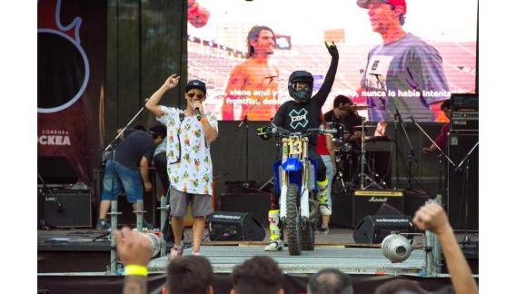 """Bajo la organización de """"Córdoba Rockea"""", algunas bandas tuvieron la oportunidad de mostrar su música y talento. (CBAX)"""
