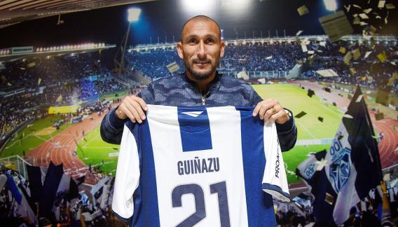 Guiñazú, listo para una nueva temporada. (Foto: Ramiro Pereyra/Archivo)