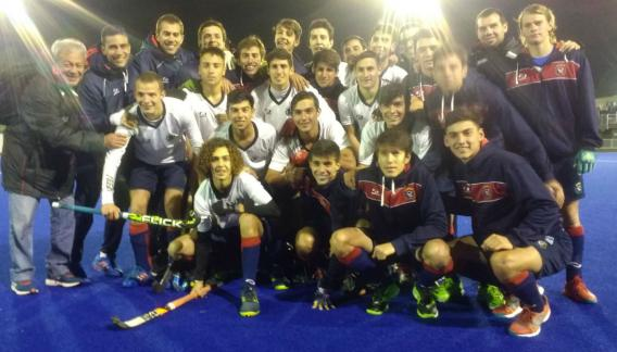 Los varones quieren arrebatarle el título a Buenos Aires. (Prensa FACHSC)