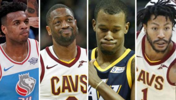 Dwyane Wade y Derrick Rose también dejan Cleveland Cavaliers