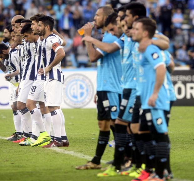 Así están Talleres y Belgrano en las tablas de Primera
