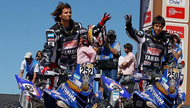 Dakar 2012: uno-dos, a lo Patronelli. (Foto: AP)