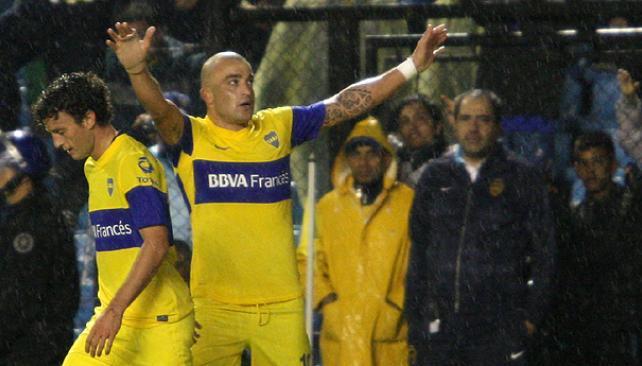 Silva se reencontró con el gol y le devolvió la punta a Boca. (Foto: FotoBaires)
