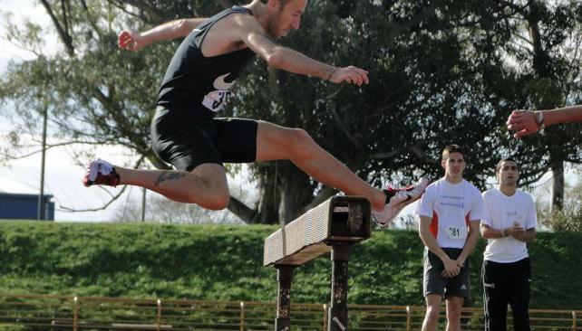 Mariano Mastromarino no pudo alcanzar la marca B que exige la IAAF y no irá a Londres 2012.