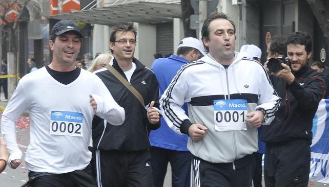 La Maratón de Córdoba, a pleno. (Foto: Pedro Castillo)