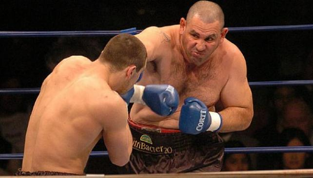 Con poco boxeo, la Mole Moli retuvo el título. (Foto: La Voz/Archivo)