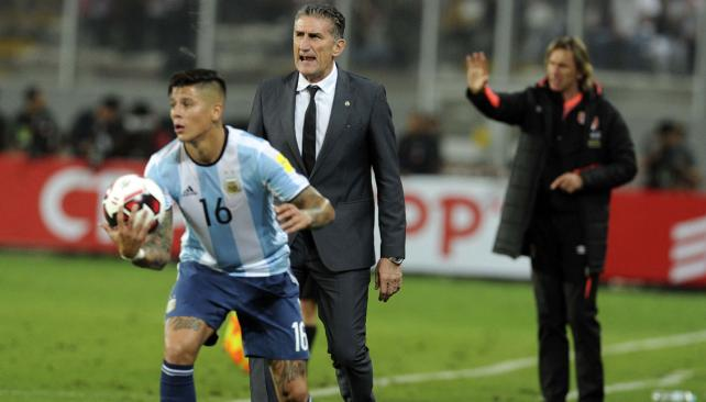 Mascherano explota tras su error ante Perú:
