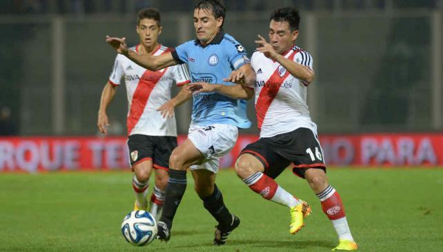 Belgrano conmemora  descenso de River