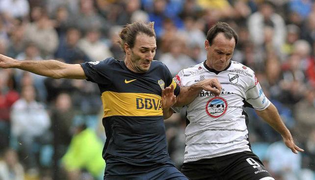 Silva marcó en dos ocasiones para la victoria de Boca ante All Boys. (Foto: Télam)