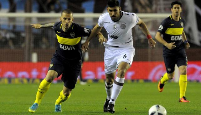Lanús venció a Boca en el debut de ambos en el torneo Independencia (Foto: DyN).