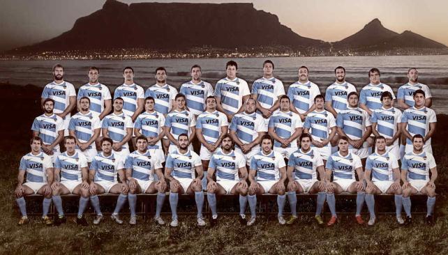 Nike presentó la nueva camiseta de Los Pumas para el Rugby Championship.