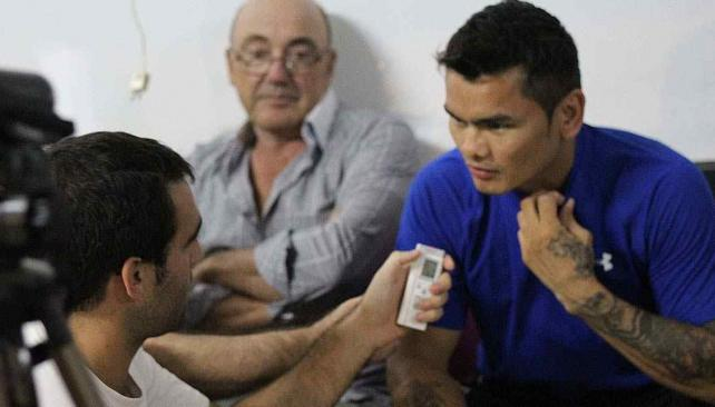 Maidana, próximo rival de Mayweather (Foto: Sergio Cejas/La Voz del Interior).