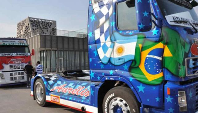 Los camiones de la Fórmula Truck ya están en Córdoba (Foto: Prensa Gobierno de Córdoba).