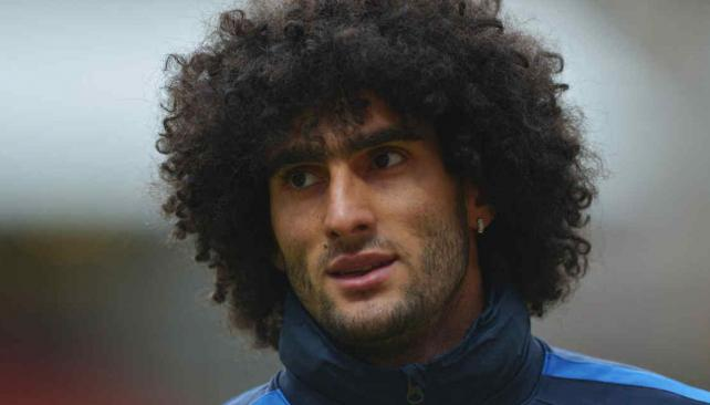 Marouane Fellaini, del Everton.