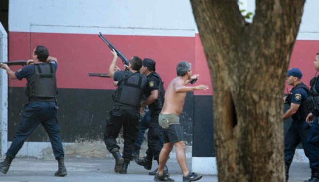 La violencia parece no tener fin en el fútbol argentino (Foto: Web).