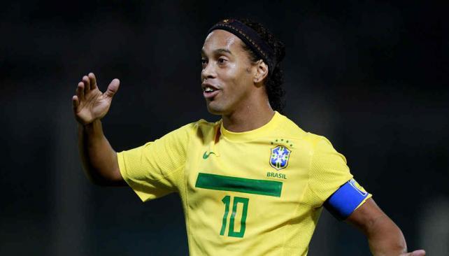 Ronaldinho sigue en buen nivel y Brasil lo necesita (Foto: AP).