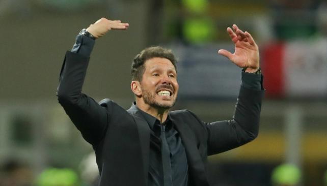 En Madrid aseguran que redujo contrato de 2020 a 2018 — Diego Simeone