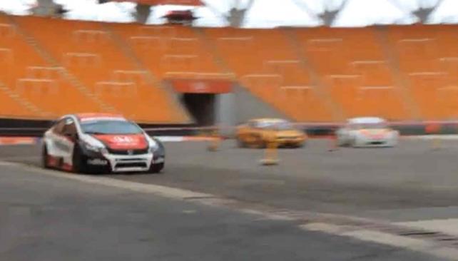 Imágenes del Súper TC 2000 en el Estadio Único de La Plata.