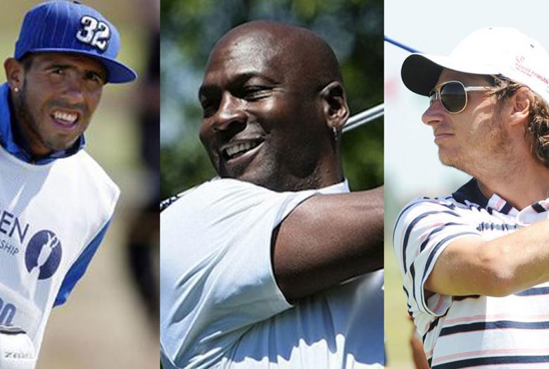 """Grandes deportistas """"atrapados"""" por el golf"""