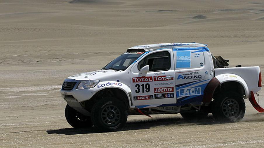 Mirá las mejores fotos de la 13° etapa del Rally Dakar 2012. (Foto: AP)