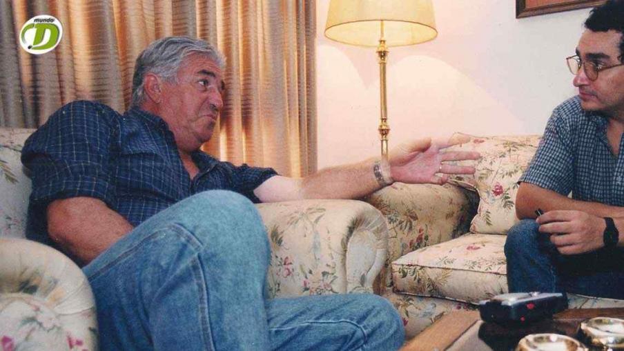Viberti, en una entrevista con La Voz del Interior (Foto: La Voz).