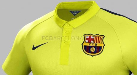 Barcelona presentó su camiseta amarilla: será la tercera equipación para esta temporada